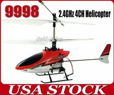 Great Wall 9998 4CH 2.4GHz 4 Channel Remote Control Metal Mini RC Electric Indoor Helicopter Red light Small Toy Gift same brand and same size as 9958 rc helicopter by Great Wall. $29.98. Can fine-tune the helicopter flying state in order to achieve better flight result. Move up and down,forward and backward,left and right,hovering,accurate positioning,etc. Truly realiaze 4 channels of all-round flight mini helicopte, more real simulated flight mode brings you a new c...