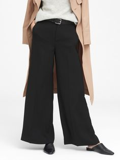 High-Rise Wide-Leg Pant | Banana Republic