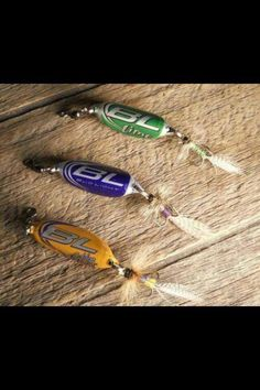Fishing lure _ BRILLIANT! .. I am making me some of these.