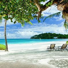 Your beach chair is waiting for you at #grandpineappleantigua