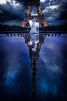 Paris, I like how the reflectionn takes up most the picture - almost dreamlike