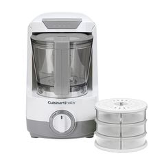 Cuisinart Baby Food Maker & Bottle Warmer with Storage Containers