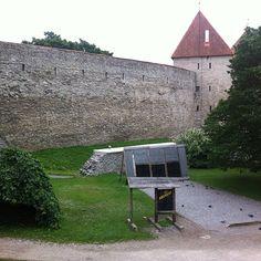 Tallinna Linnamüür / Tallinn City Wall in Tallinn, Harju maakond