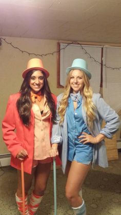 Dumb and dumber. (Harry and Lloyd) perfect Halloween costume for best friends.