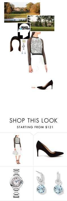 """""""Untitled #2245"""" by duchessq ❤ liked on Polyvore featuring Roland Mouret, Cartier and Riviere"""