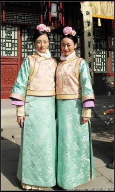 Qing dynasty clothes for women