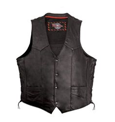 Milwaukee Motorcycle Clothing Company Mens Side Lace Vest with Gun Pocket (Black, X-Large) http://suliaszone.com/milwaukee-motorcycle-clothing-company-mens-side-lace-vest-with-gun-pocket-black-x-large/