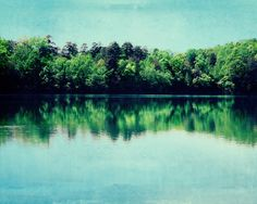 Lake Photo  Fine Art Photography nature water by kimfearheiley, $30.00
