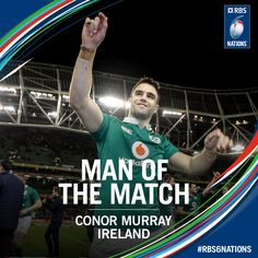 #RBS6Nations Irlanda. Conor Murray