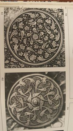 Persian Pattern, Turkish Art, Slab Pottery, Pretty Designs, Islamic Art, Love Art, Celtic, Mandala, Stationery