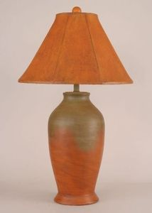 Smooth Pottery Table Lamp