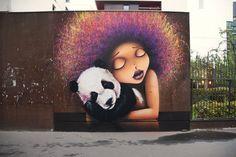 3d Street Art, Urban Street Art, Murals Street Art, Amazing Street Art, Street Artists, Urban Art, Graffiti Art, Street Art Graffiti, Illustrations