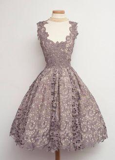 Vintage Lavender lace
