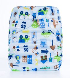 Cloth Nappy - Washable Reusable - Wrap Diapers Cover Pocket