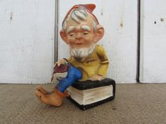 Vintage Gnome - Made in Japan, Old Gnome, Made in Japan Items, Gnomes, Old Gnomes, Vintage Gnomes, Collectible Gnomes by OpenTwentyFourSeven on Etsy