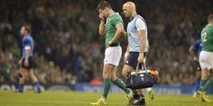 Rugby - CM - France-Irlande : Jonny Sexton sort sur plaquage