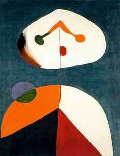 , óleo de Joan Miro (1893-1983, Spain)