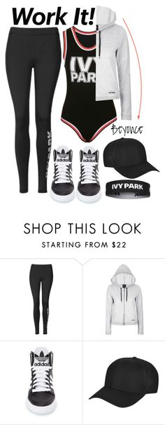 """""""Slay All Day: Style Beyonce's Ivy Park!"""" by alaria ❤ liked on Polyvore featuring Ivy Park, adidas, Topshop and Beyonce"""