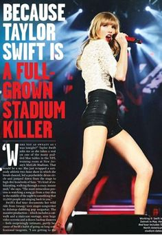 Taylor in rolling stone magazine
