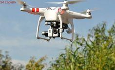 Dos jóvenes españoles crean un dron de bajo coste para detectar minas antipersonas