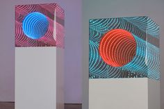 Light Boxes by Hans Kotter