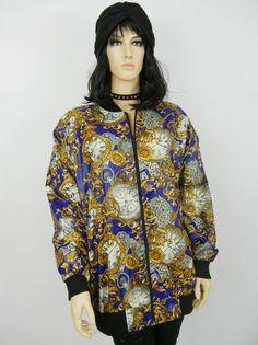 Vintage Windbreaker Jacket Size Large by littleraisinvintage, $24.00