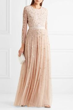 Blush tulle Button and concealed zip fastening at back 100% nylon; lining: 100% polyester Dry clean Designer color: Petal Pink Imported