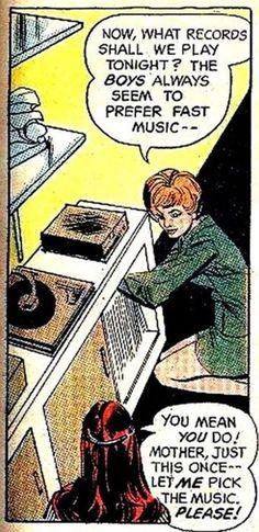 15 Comics With Vinyl Records | DJ rooms