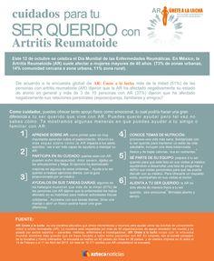 Aprende lo esencial sobre los cuidados para tu ser querido con artitris reumatoide #Salud