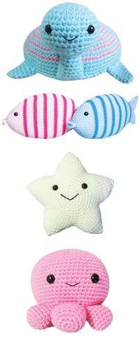 Crochet Amigurumi Patterns - Ami Ami Dogs Vol.1, Mitsuki Hoshi ... | 500x200