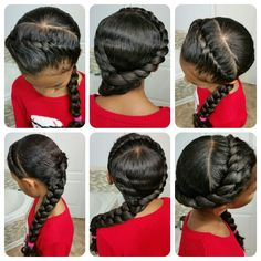 Hair styles for little girls. Long curly hair styles.