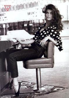 Guess, 1991Photographer: Ellen von UnwerthModel: Shana Zadrick