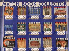 Match Book Collection