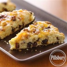 Bacon-Date Scones with Orange Marmalade Glaze from Pillsbury® Baking