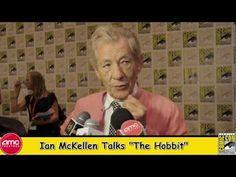 Ian McKellen Talks The Hobbit At Comic Con 2012