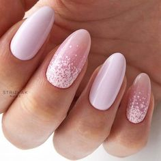 Pink And White Nails Trends For Spring And Summer 2018 ★ See more: http://glaminati.com/pink-and-white-nails/ #springnaildesigns