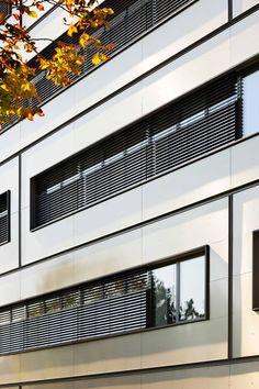 Technopark Siemens AG, Nuremberg | Germany by Brückner & Brückner architects | Photo: Ralf Dieter Bischoff  ALUCOBOND® naturAL Brushed