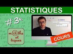 LE COURS : Statistiques - Troisième - YouTube