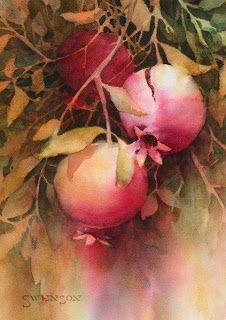 Brenda Swenson: Negative Painting with Watercolor/Tutorial