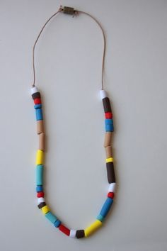 DIY Indian inspired necklace