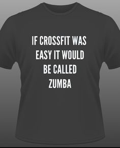 Crossfit motivational Tshirt by DeathByRx on Etsy, $16.99