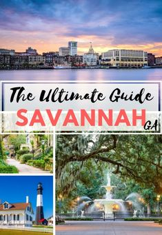 Looking for Cool & Fun things to do in Savannah Georgia? Here you have my Savannah Travel Guide with the best travel tips & Savannah Bucket List! Usa Travel Guide, Travel Blog, Travel Usa, Travel Tips, Foodie Travel, Travel Guides, New Orleans, New York, Europe Destinations