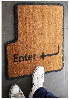 hahahah Enter Key Doormat