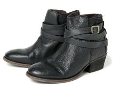 Horrigan Noir (£150.00) - One of Hudsons most successful ladies leather ankle boots. A split in the upper gives these great little Cuban hee...