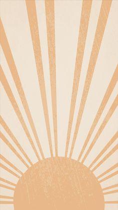 New Boho Wallpapers   Sunshine + Abstract Shapes