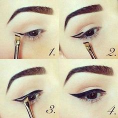 Cat eyes So...you're want that perfect cat eye. It can be really difficult, but with a few simple steps, you can achieve this fierce winged eyeliner like a pro. First, you'll need to pick what kind of...