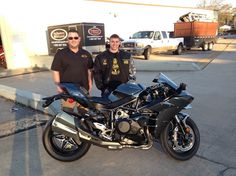 Thanks to Jesse Toups from Violet LA for getting a 2016 Kawasaki ZX10 Ninja H2 at Hattiesburg Cycles