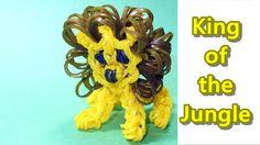 Rainbow Loom Charms: LION: How to Tutorial / Design (DIY Mommy)