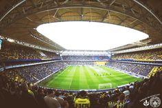 Sukru Sarakoglu es el estadio de Fenerbahce.