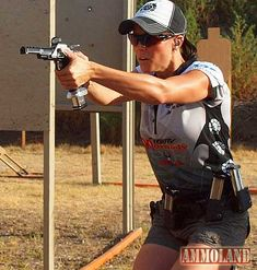 Jessie Duff, National & World Champion Pistol Shooter, Team Taurus Captain